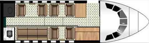 Interior layout falcon 50