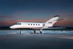 ClubJet Falcon 20 N376BL